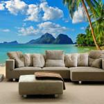Free-shipping-tropical-landscape-3d-wallpaper-beach-mural-custom-made-fashion-home-decoration-ocean-font-b