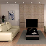 furniture-elegant-cream-upholstery-leather-sofa-with-glossy-dark-rectangular-oak-wood-veneer-coffee-table-on-top-small-rectangular-grey-polyester-carpet-in-modern-solid-oak-wooden-floor-as